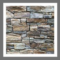 RS-W-001 Wand-Design Verblender Naturstein Quarzit  Steinwand
