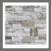 RS-W-010 Wand-Design Natursteinwand Verblender Quarzit