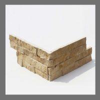 RS-W-014 Wand-Design Verblender Naturstein Travertin  Steinwand