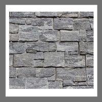 RS-W-015 Wand-Design Verblender Naturstein Granit  Steinwand